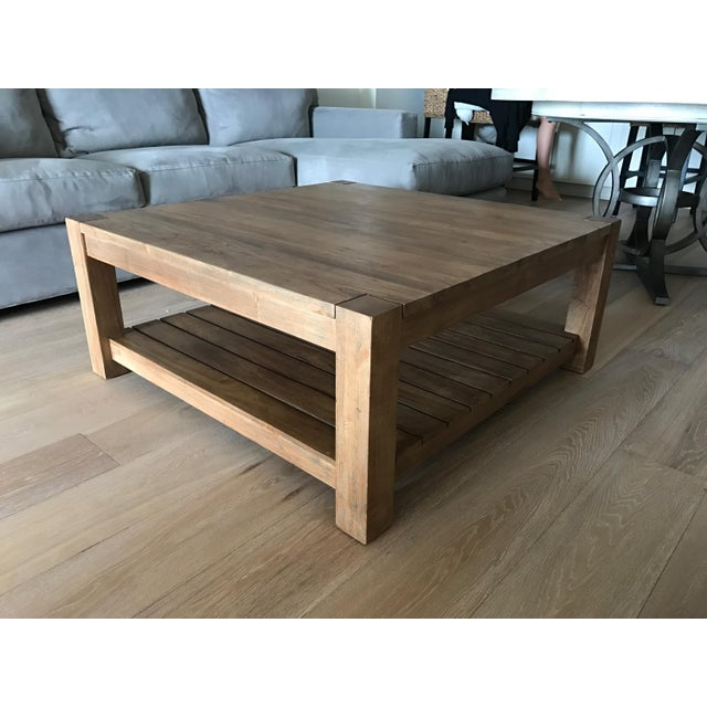 Off Crate And Barrel Crate Barrel Square Coffee Table