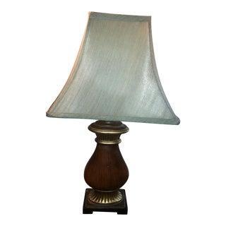 Traditional Wood Lamp & Shade