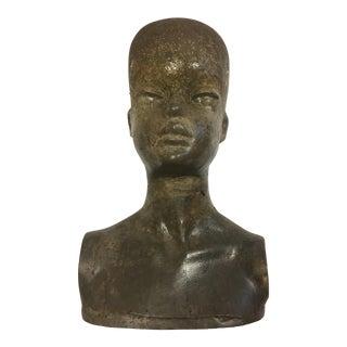 Original Fiberglass Mannequin Bust