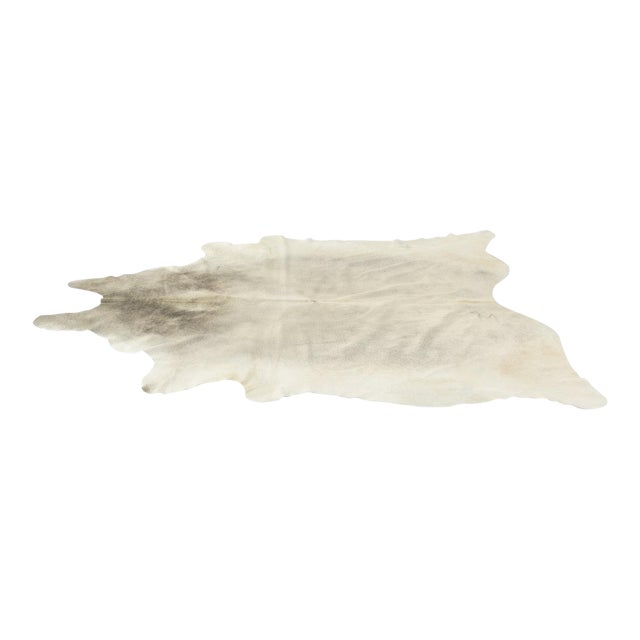 Genuine Brazilian Cowhide, Silver - Image 1 of 4