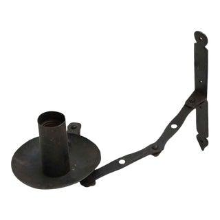 Black Iron Extendable Sconces - Set of 3
