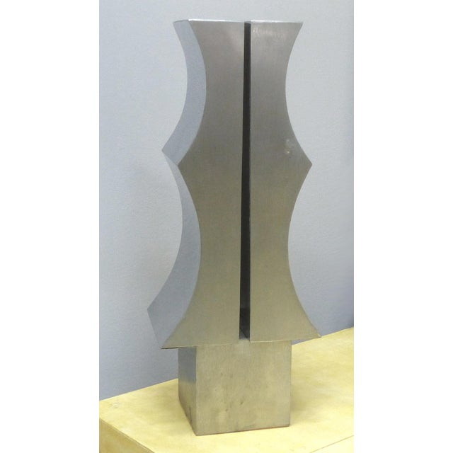 1970s Modernist Aluminum Sculpture by Yutaka Toyota - Image 4 of 11
