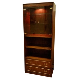 Thomasville Campaign Style Display Cabinet