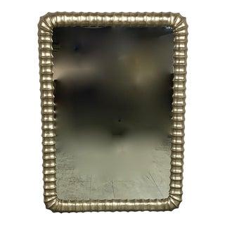 Metallic Framed Wall Mirror