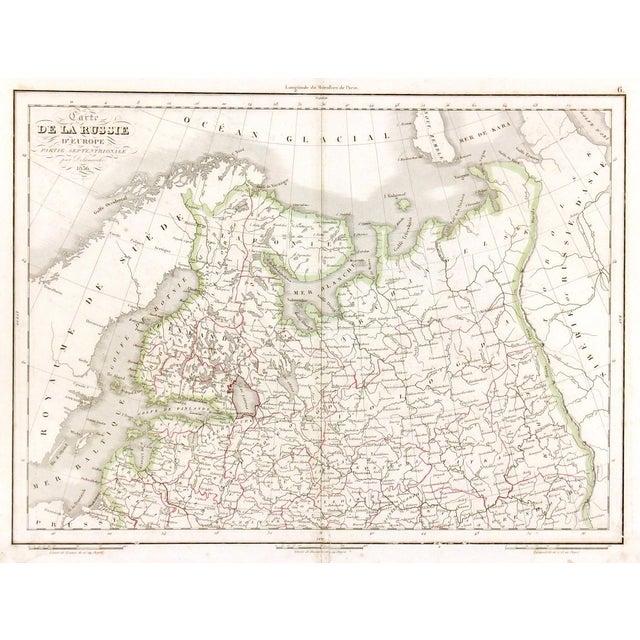 Antique European Russia Map, 1836 - Image 1 of 3