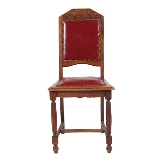 1920s Tudor Rose Side Chair