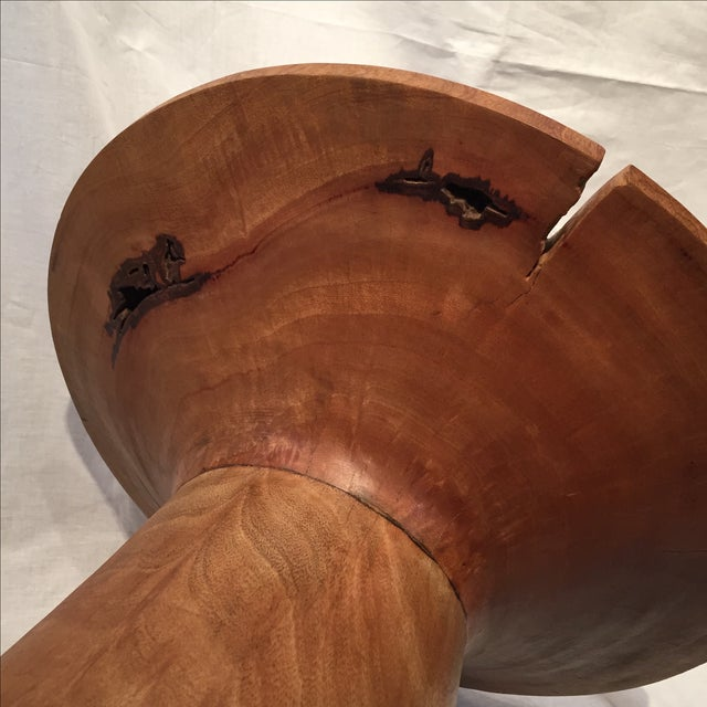 Image of Acacia Wood Accent Table