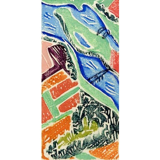 Abstract Landscape Serigraph