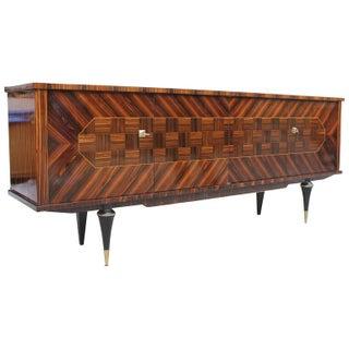 1940s French Art Deco Ebony Sideboard