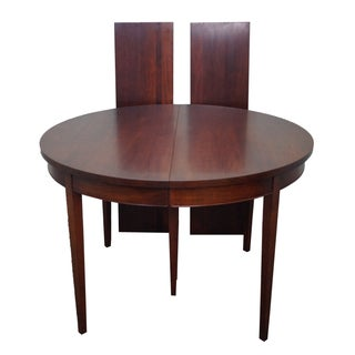 Vintage Solid Mahogany Extension Dining Table