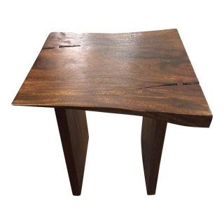 Palecek Live Edge Wood Side Table