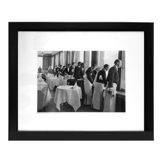 "Alfred Eisenstaedt ""Waiters Watching Sonya Henie Skate"" Photograph"
