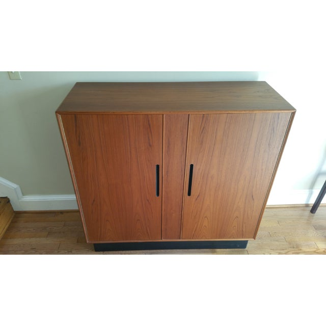 Image of Westnofa Mid Century Teak Gentleman's Chest