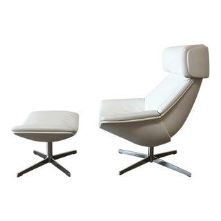 Walter Knoll Egon Lounge Chair & Ottoman