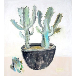 Anne-Louise Ewen Cactus Oil on Canvas