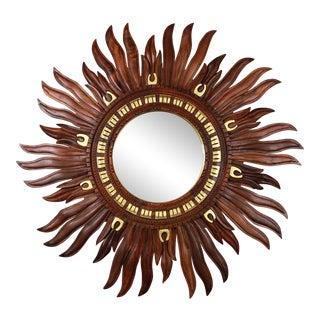Zarathustra Rosewood Sunburst Mirror