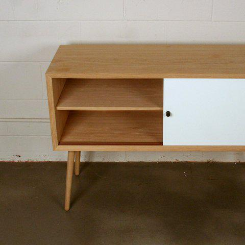 Via Cph Soaped Oak Danish Sideboard / Cabinet - Image 4 of 6
