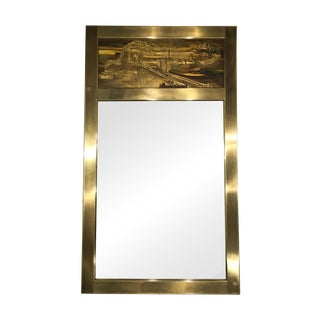 Mastercraft Bernhard Rohne Acid Etched Mirror