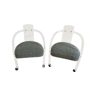 Mid-Century Lucite Chairs - A Pair