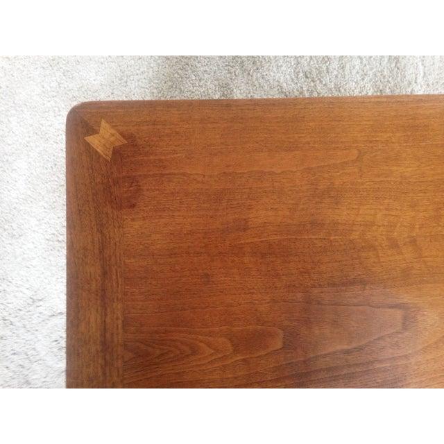 Image of Mid Century Wood Coffee Table - Lane