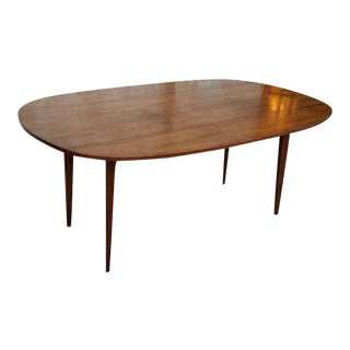 Vintage Drop Leaf Walnut Dining Table