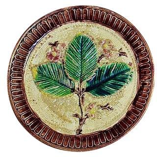 Decorative Majolica Leaf Plate