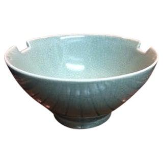 Ancien Celadon Asian Bowl by Cordon Bleu