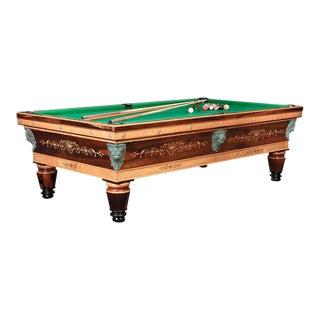 Napoleon III French Billiard Table