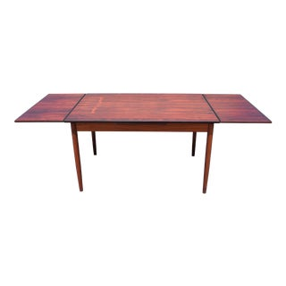 Mid-Century Danish Modern Rosewood Dining Table