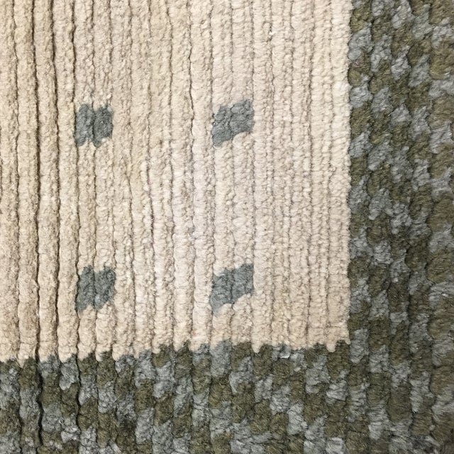 "Wool Cotton Rug From Nepal - 5'6"" X 3'7"" - Image 3 of 5"