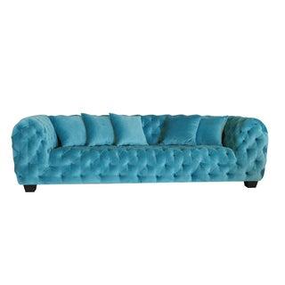 Casa Milano Collection Velvet Tufted Sofa