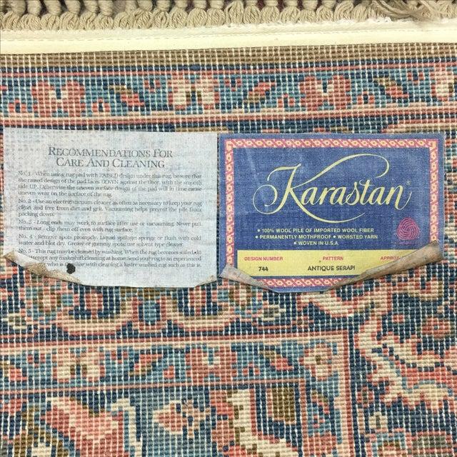 Karastan Antique Serapi Rug - 4' X 6' - Image 6 of 7