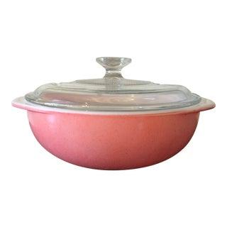 Vintage Pyrex Pink Casserole Dish