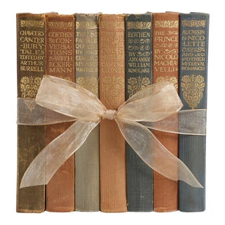 1930's Vintage Book Gift Set: Everyman's Library, S/7