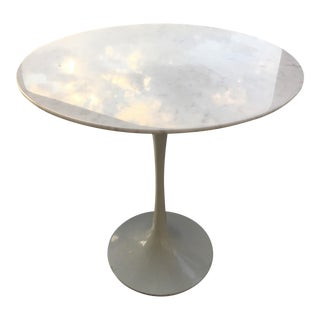 Modern Round Marble Side Table