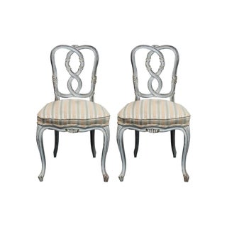 French Provincial Chairs - Pair
