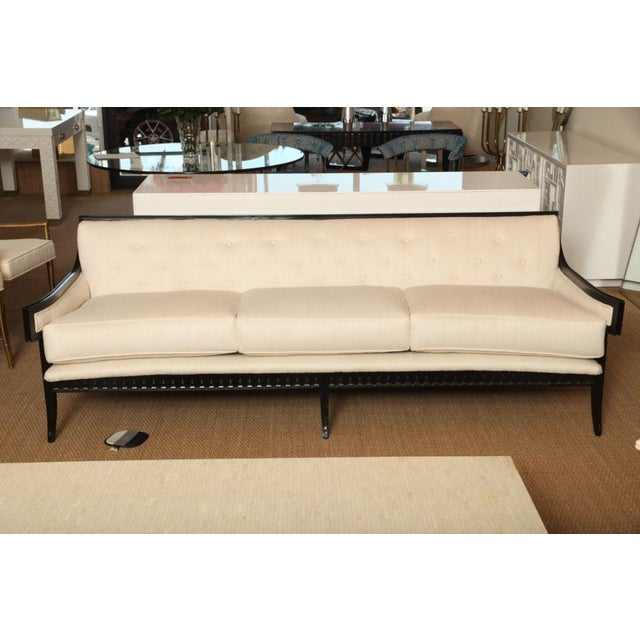 Elegant and Unusual Moderne Sofa - Image 5 of 7