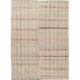 Turkish Fabric Kilim - 6'2 X 8'6