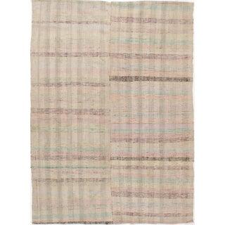 Turkish Fabric Kilim - 6'2 X 8'6