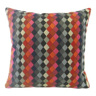 Mid-Century Style Geometric Rombos Pillow