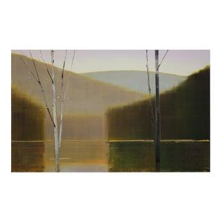 2017, II.II, 2017 Oil on birch panel by Stephen Pentak.