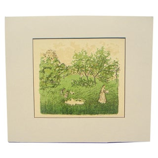 Bonnard the Orchard Color Lithograph