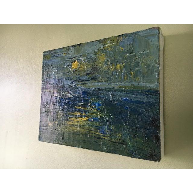 Jenny Vorwaller Sunset Oil Painting - Image 3 of 3
