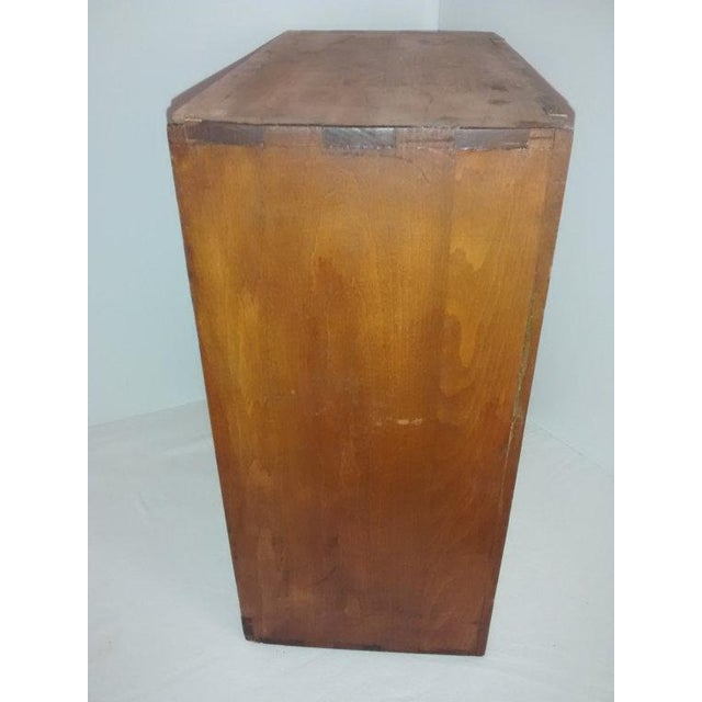 Primitive New England Antique Cabinet Shaker Style - Image 3 of 5