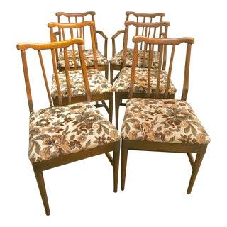 John Stuart Style Midcentury Dining Chairs - Set of 6