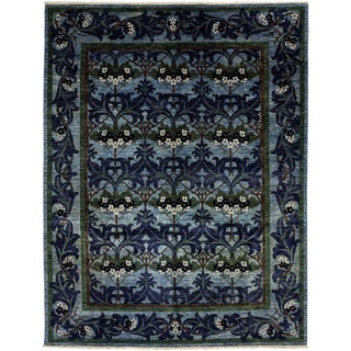 "Arts & Crafts, Hand Knotted Area Rug - 7' 7"" x 9' 10"""