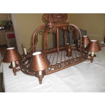 Image of Urban Archaeology Island Copper Kitchen Led Chandelier