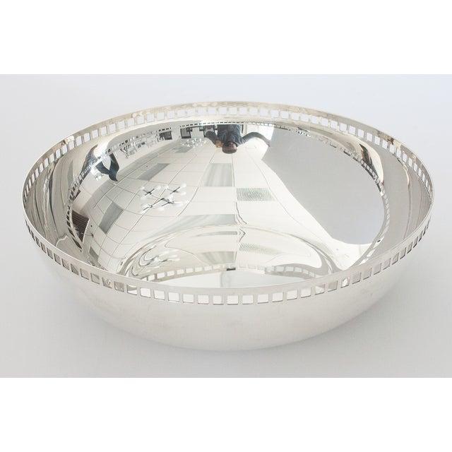 Image of Richard Meier Swid Powell Silver Centerpiece Bowl