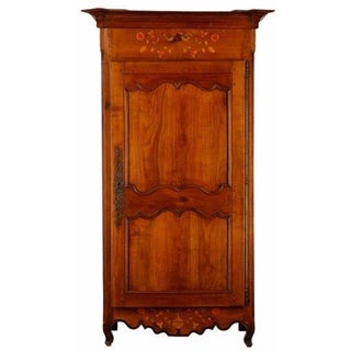 Late 18th-C. French Country Bonnetiere Armoire