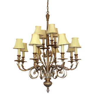 Antique Veronese Chandelier